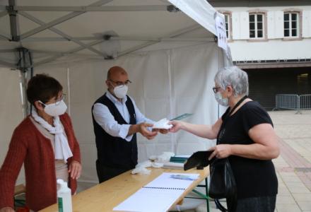 La Ville de Bischwiller distribue des masques à la population